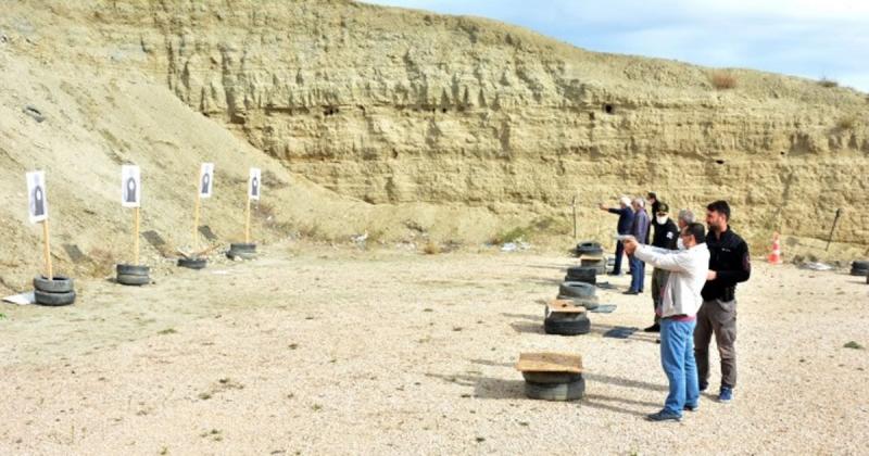 Ormancılara Silah Kullanımı ve Pratik Atış Eğitimi Verildi