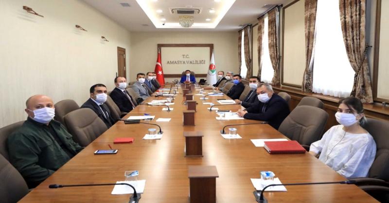 OSB Üst Kurulu Toplantısı Gerçekleştirildi