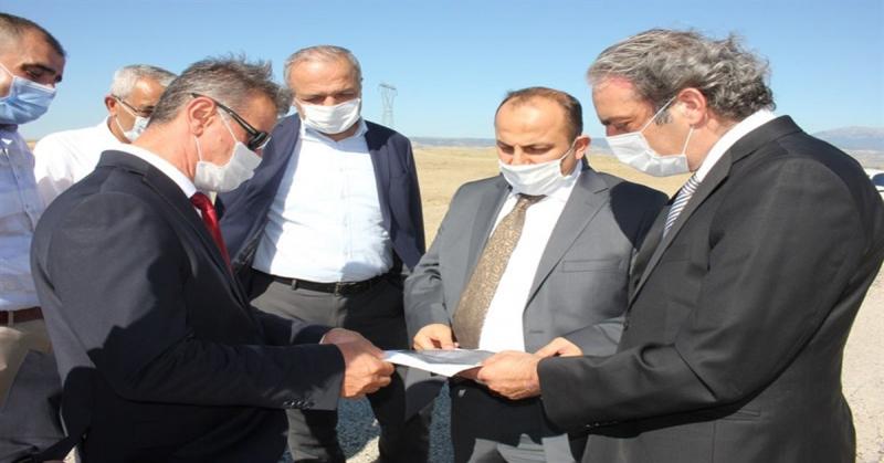 Suluova Meslek Yüksekokulu'na 75000 M² Arsa Teslim Edildi