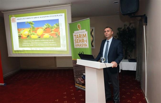'Tarım Şehr-i Amasya' Projesi Tanıtıldı