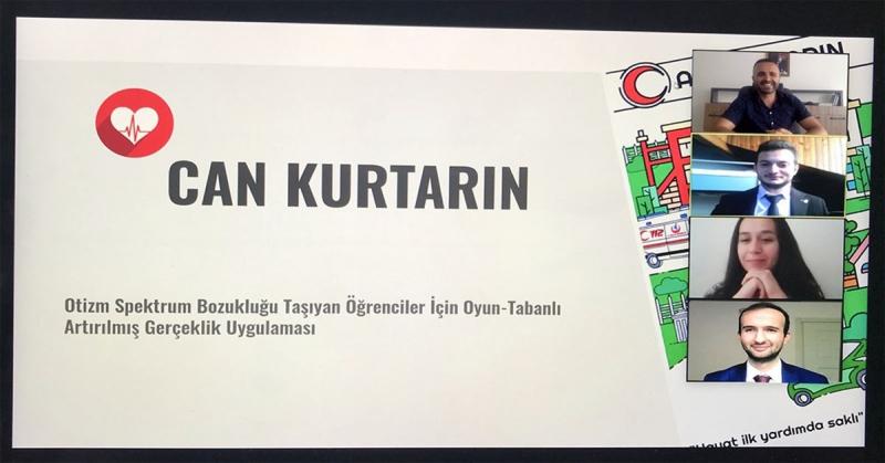 TÜBİTAK'tan Amasya Üniversitesi Öğrencilerine Ödül
