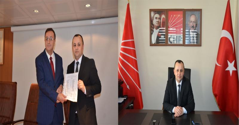 Turgay Sevindi Mazbatasını Alarak CHP Amasya İl Başkanlığı Görevine Başladı