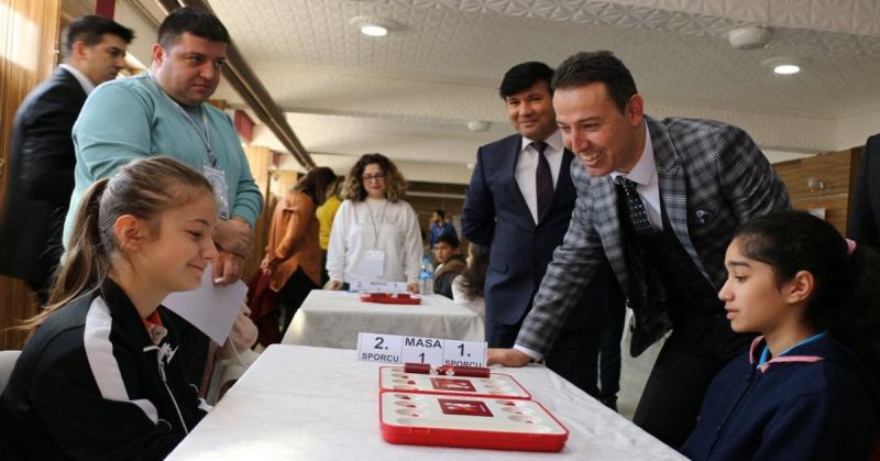 Türkiye Akıl ve Zeka Oyunları Amasya Merkez İlçe Turnuvası Yapıldı