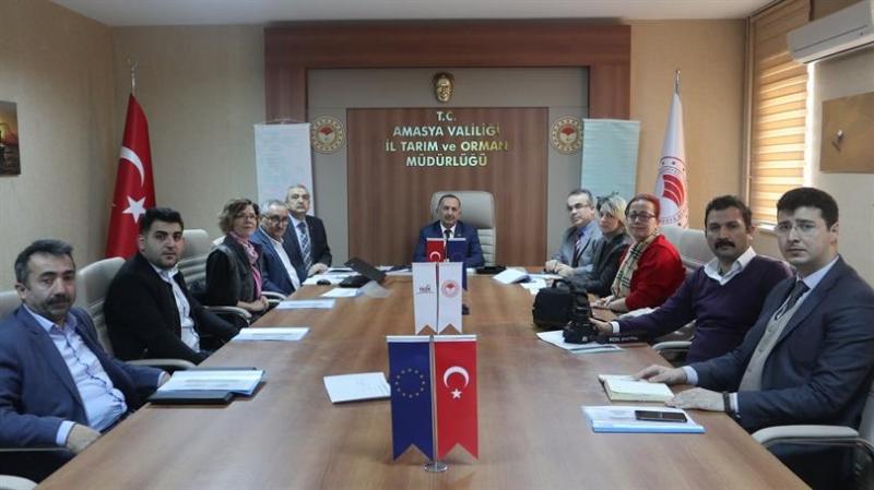 Ulusal Kırsal Ağ Hazırlık Toplantısı ve Proje Seçimi Yapıldı
