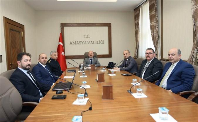 'Üniversite Güvenlik ve Asayiş Koordinasyon Toplantısı' Yapıldı