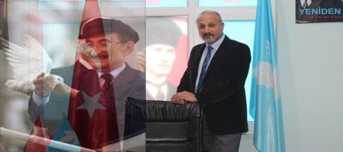 Ünsal Ülkü yaptığı açıklamada, DSP'nin kurucu başkanı Bülent Ecevit'i 11. ölüm yıl dönümünde andı.