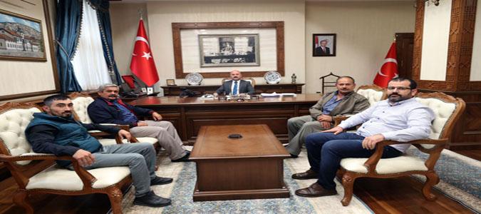 Vali Dr. Osman Varol, Köy Muhtarlarının Dinledi