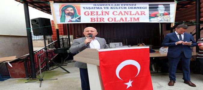 Vali Varol, Hamdullah Efendi Yaşatma ve Kültür Derneği  Aşure Etkinliğine Katıldı